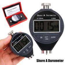 Digital Shore Hardness Durometer 100HA Tester Tire Rubber Meter LCD Display
