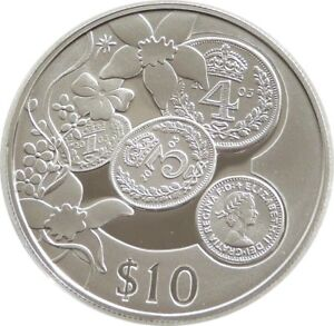 2003 east caribbean states jeudi argent $10 Dix Dollar Silver Proof Coin