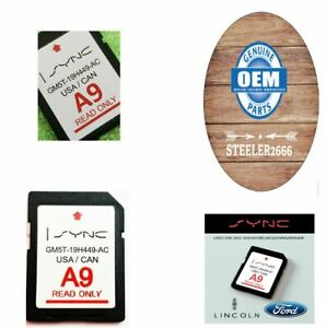A9 2019 Map Update Navigation Sd Card Sync Fits All Ford Lincoln Updates A8 A7 Ebay