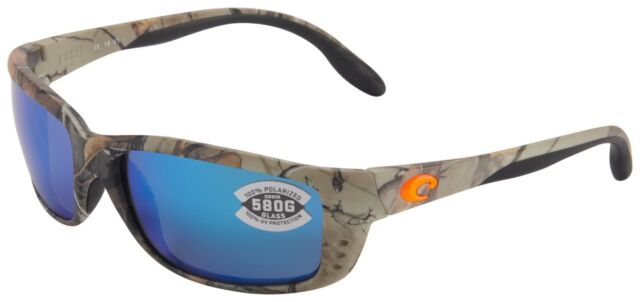 0853c48c7254b Costa Del Mar Zane Sunglasses ZN-69-OBMGLP 580G Camo Frame Blue Mirror  Polarized