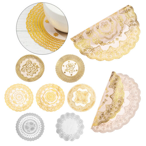 Round Coasters PVC Hollow Placemat Insulation Coaster Non-slip Mat Bowl Pad