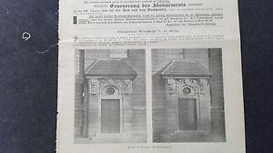 Der GüNstigste Preis 1900 Baugewerkszeitung 52 Berlin Wilmsstraße Berlin Veranda