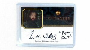 CRYPTOZOIC-OUTLANDER-SEASON-2-Autograph-Stephen-Walters-Angus-Mhor-034-Peace-Out-034