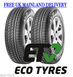 2x tyres 205 55 r16 91v pirelli p7 premuim tyre e b 72db ebay. Black Bedroom Furniture Sets. Home Design Ideas