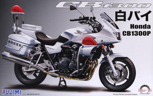 Fujimi 14145 Bike-14 1//12 Scale Model Bike Kit Honda CB1300-P Police Motorcycle