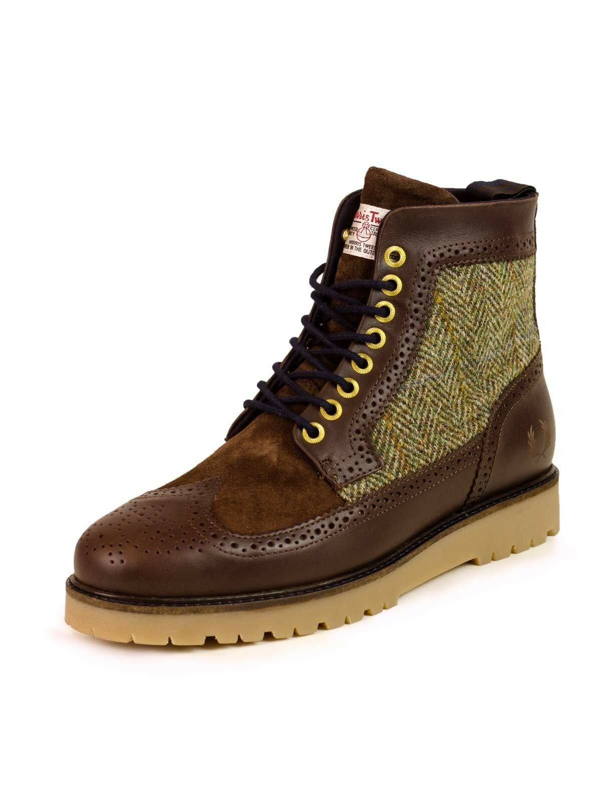 Fred Perry Schuh / Stiefel Northgate Boot Har Tweed / LTH B B5283 325 #5494