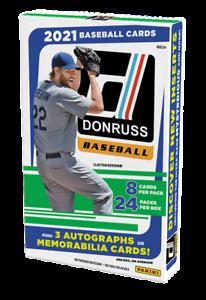 2021 Panini Donruss Baseball Factory Sealed Hobby Box
