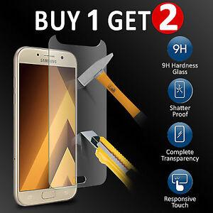 100-genuine-TEMPERED-verre-protecteur-d-039-ecran-pour-Samsung-Galaxy-A5-2017