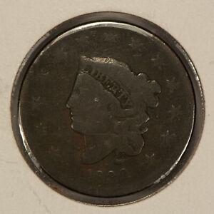 1832 1c Coronet Head Large Cent SKU-Y2487