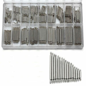 EG-360Pcs-Stainless-Steel-Watch-Band-Spring-Bars-Strap-Link-Pins-8-25mm-Repair