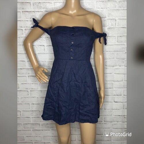Reformation off shoulder mini dress 6