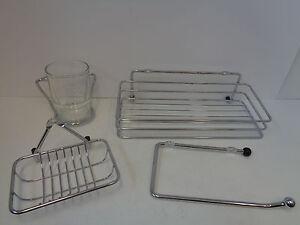 Accessori Da Bagno Con Ventosa : Premier da bagno cromato accessori con ventosa fissaggi ebay