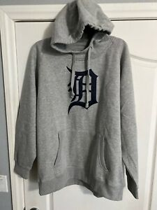 NWT-Antigua-Golf-XL-Detroit-Tigers-MLB-No-Zip-Pullover-Hoodie