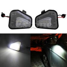 2pcs 18 LED Side Mirror Puddle Light Lamp For VW CC Passat Scirocco White new
