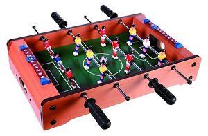 5a0731c78eebbb Jeu de Football Table Fussballspiel Baby Foot Kicker 51x31 Cm   eBay