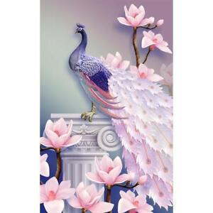 Peacock Pfau 5d Diamond Painting Diamant Malerei Stickerei Bilder