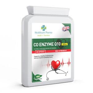 Co-enzima-Q10-CoQ10-300mg-60-capsule-Antiossidante-Cuore-ENERGY-INTEGRATORE-UK