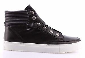 CULT Sneakers, Casual Uomo Sneakers Bowie Leather Black