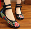 Chinese-Embroidered-Floral-Shoes-Women-Ballerina-Flat-Ballet-Cotton-Loafer-snug thumbnail 26