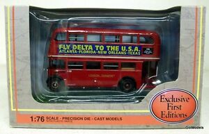 EFE-1-76-34107-AEC-RT3-BUS-LONDON-TRANSPORT-ROUTE-146-DIE-CAST-MODEL-BUS