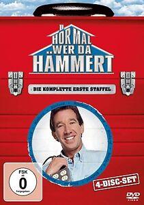 HOR-MAL-WER-DA-HAMMERT-Staffel-1-4-DVDs-Tim-Allen-OVP