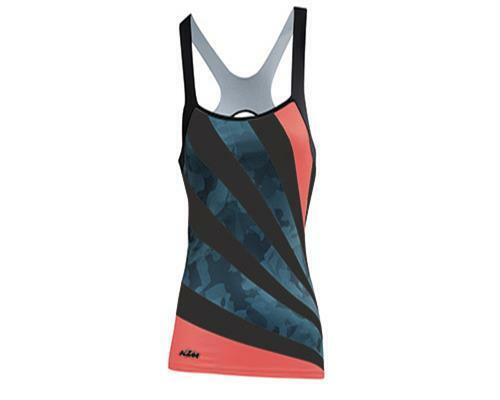Ktm camiseta top Lady line negro coral Dove talla L 2017 bike nuevo