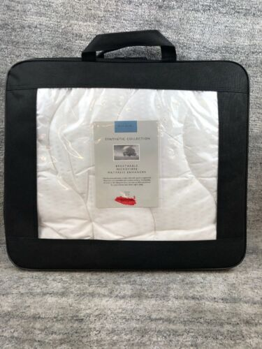 John Lewis Synthetic Breathable Microfibre Mattress Enhancer SINGLE
