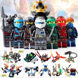 8pcs-Ninjago-Weapons-NINJA-Figure-Blocks-Toys-Fit-Lego
