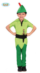 offerte esclusive abile design classico Dettagli su GUIRCA Costume vestito Peter Pan carnevale bambino mod. 8274_