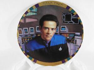 Star-Trek-Dr-Julian-Bashir-Plate-1186-A-W-CERT