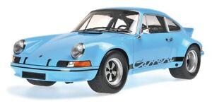 PORSCHE-911-CARRERA-RSR-2-8-1973-GULF-BLUE-MINICHAMPS-107065021-1-18-RESIN
