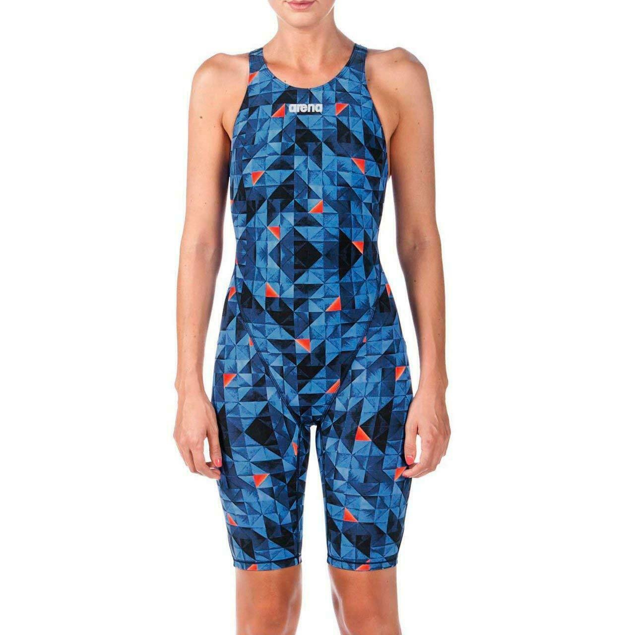 Arena Mujer Powerskin St  2.0 Cochereras de una pieza Traje De Baño Turquesa-Naranja Talla 26  precio razonable