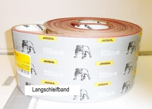 Mirka Schleifbänder Jepuflex Antistatic 150x7500 mm wählbar je Korn VE-10