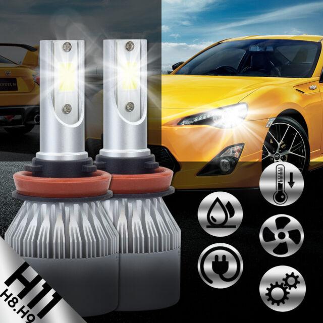 LED For Acura MDX 2004-2006 Headlight Kit H11 6000K White CREE Bulbs Low Beam