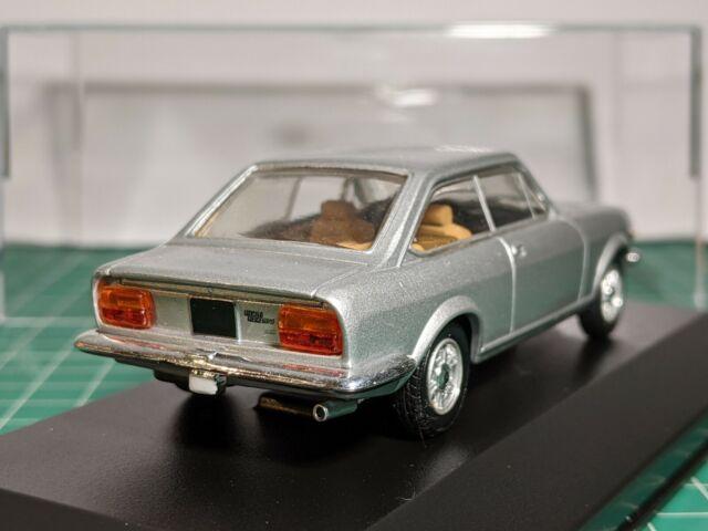 Fiat 124 Sport Coupe Silver 1/43 STARLINE Rare