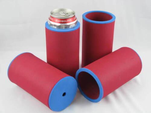 passgenau Neoprenkühler 4er Set Getränkekühler 0,5l Dose Bierkühler