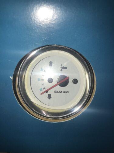 Chrome Bezel TRIM Gauge for Suzuki 4-Stroke Outboard 34800-93J11-000