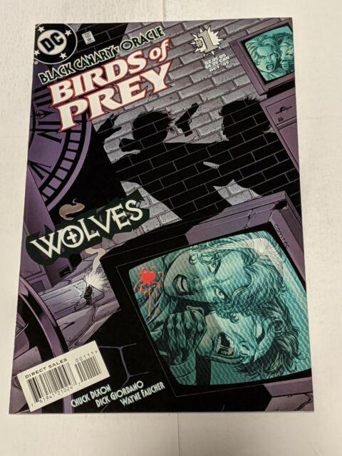 Birds Of Prey Wolves #1 October 1997 DC Comics