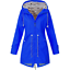 Plus-Size-Womens-Long-Sleeve-Hooded-Wind-Jackets-Outdoor-Waterproof-Rain-Coat thumbnail 12