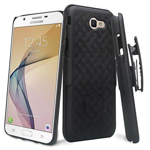 size 40 ddca5 d8cbc For Samsung Galaxy J7 PRIME T-Mobile J727T MetroPCS Holster Black Combo Case
