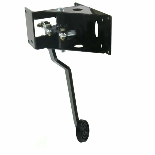 Universal 90 Deg FW Brake Pedal Bracket kit with 3in Rubber Pedal Pad suspension