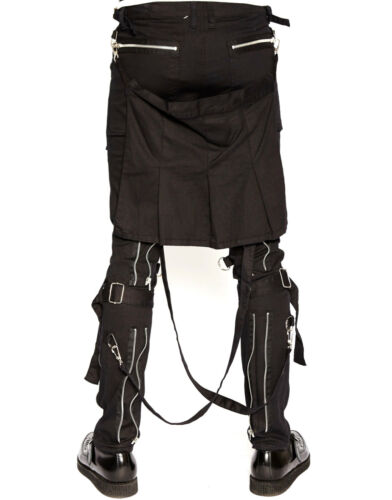Biker Goth Tripp Steampunk Cyber Jeans Extreme Pants Gothic Rocker Punk Bondage q18qxP
