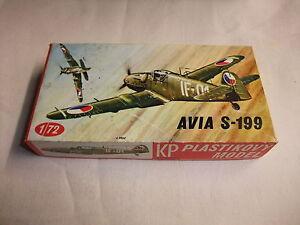 Nachdenklich Flugzeug Modell Bausatz 1:72 Kp Tschechisches Jagdflugzeug Avia S-199 Um 1948