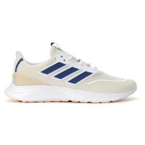 Adidas Men's EnergyFalcon Cloud White/Tech Indigo/Linen Running Shoes EG2927 NEW