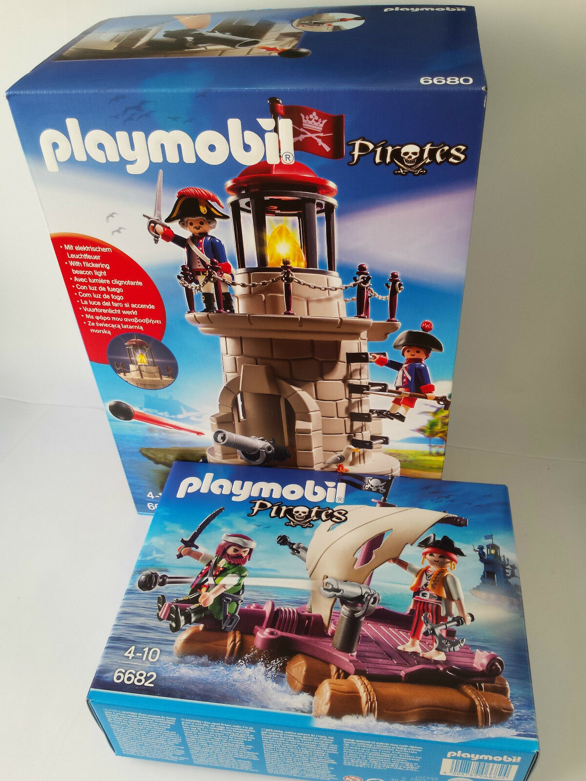 PLAYMOBIL PIRATAS LOTE SET 6680 + 6682 JUGUETE IDEAL REGALO NUEVO
