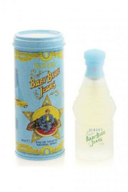 BABY BLUE JEANS 50ML EDT FOR KIDS BY VERSACE -  DISCONTINUED