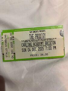 The-Prodigy-Ticket-Stub-Brixton-2005