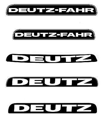 Aufkleber Deutz Traktor Für Die Motorhaube Der 07 Baureihe