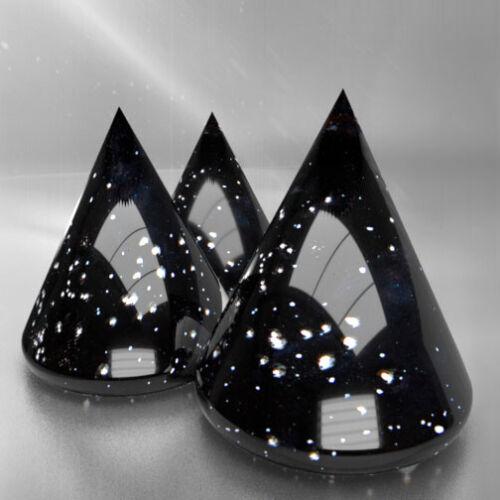 "#DE /""METEORIT SCHWARZ/"" Sammlung glänzender Glasuren Earthenware Pottery"