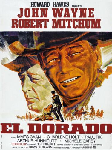 El Dorado  John Wayne Robert Mitchum movie poster print #3